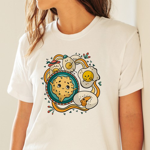 Fun T-shirt for breakfast restaurant