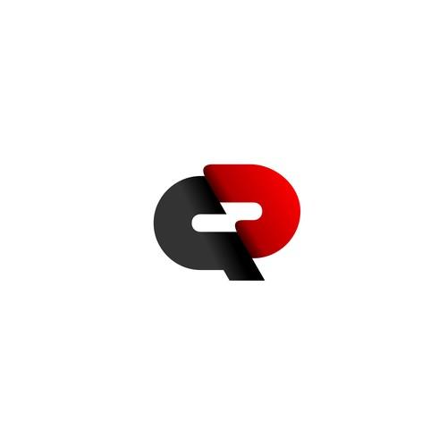 QD letter mark logo