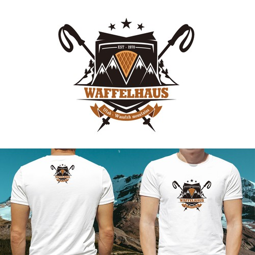 LOGO CONCEPT FOR WAFFELHAUS