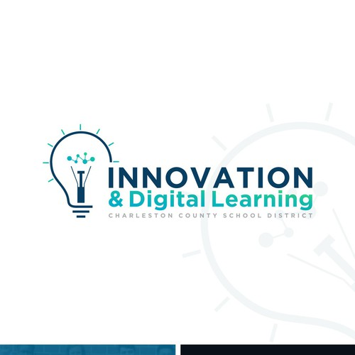 Logo concept for Charleston County School District's (CCSD) Department of Innovation & Digital Learning