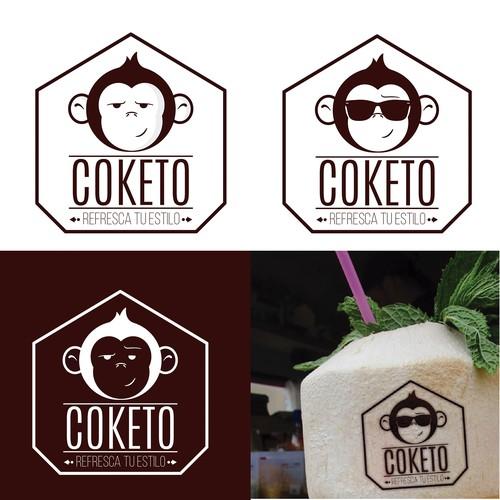 Propuesta logo COKETO