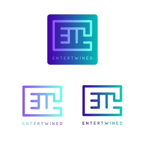 Logo for Entertwine - a freelance creative consulting business dealing with creative services, social media and web