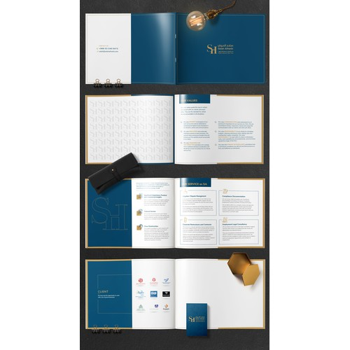 design luxurious law firm profile - target clients wealthy companies