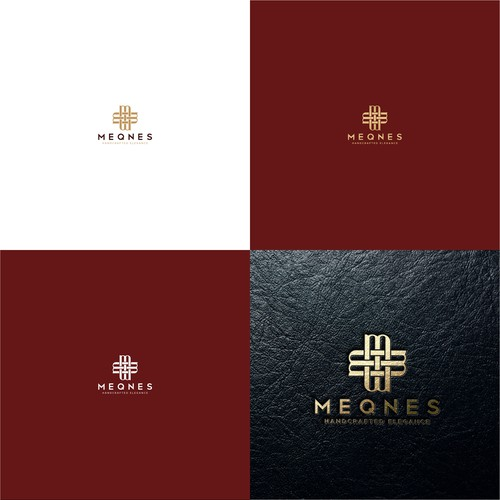 Luxury Logo for Leather Company