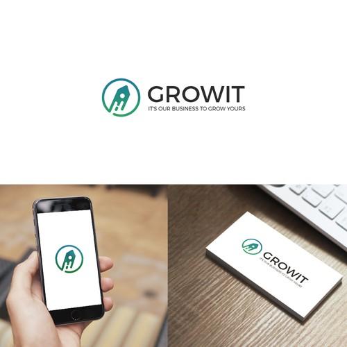Clean design for Growit