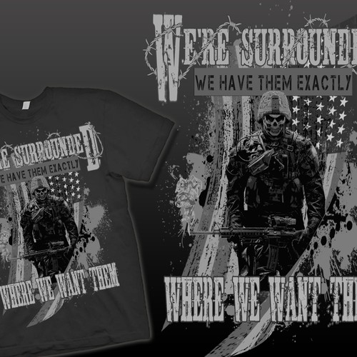 United States Marines Shirt