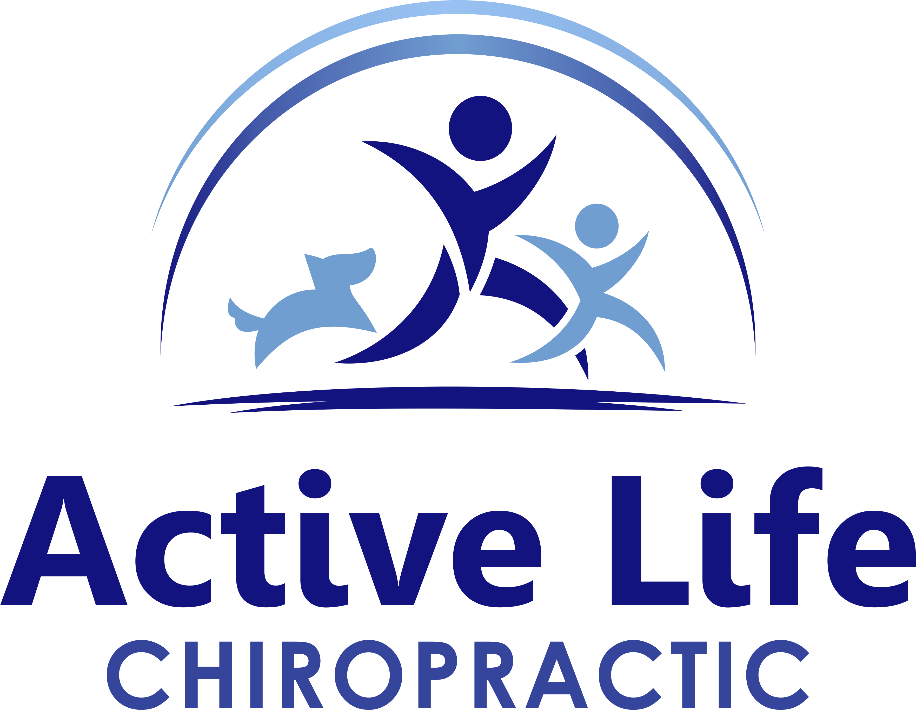 Wellness chiropractic office needs a new logo conveying health & movement