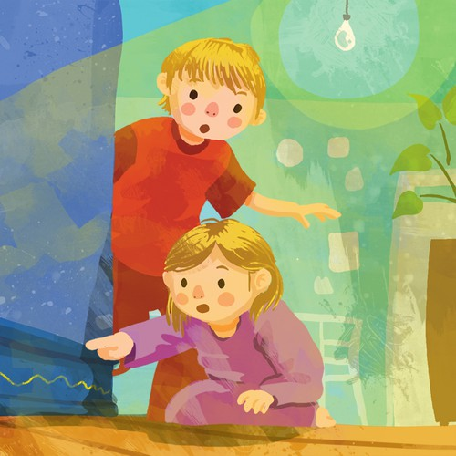 Children's Book Illustration Sample