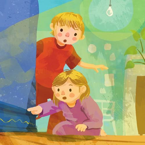 Children's Book Illustration Sample
