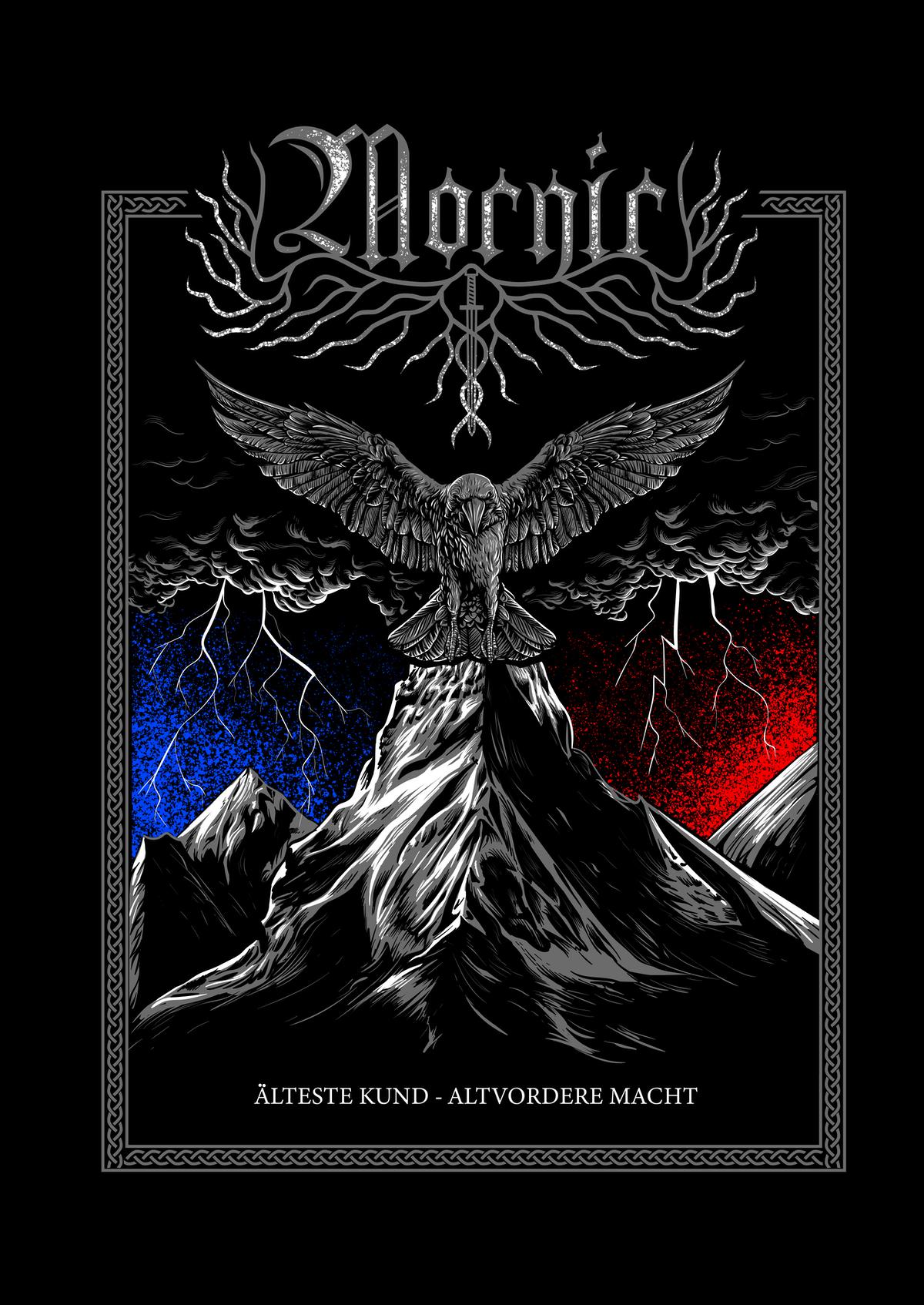 T-Shirt Design for a Pagan Metal Band