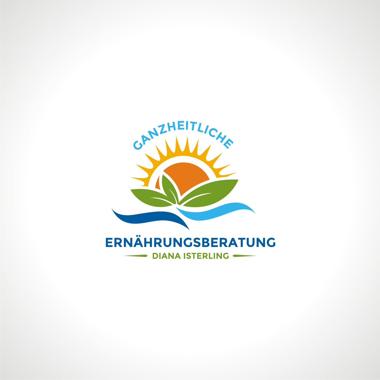 Logo for my  health and nutrition business