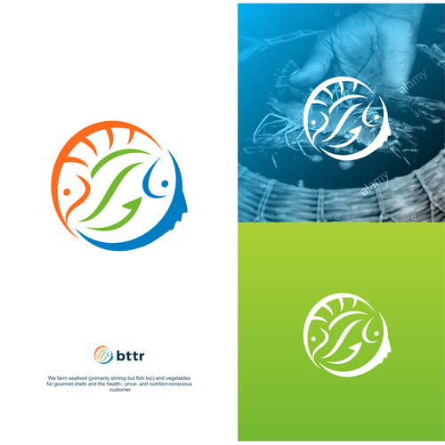 Logo design for an aquatic farm indutries
