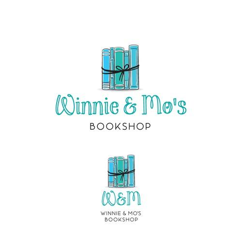 Winnie & Mo's Bookshop logo