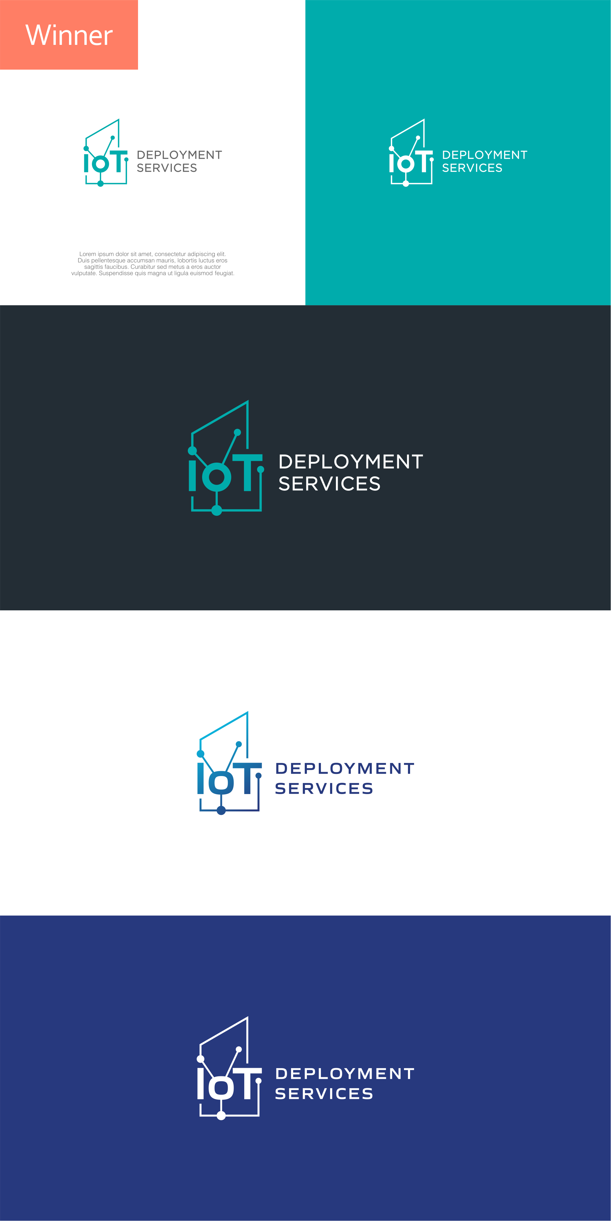 Design a logo for IoT Deployment Services company!