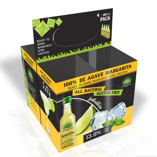 Margaritas Box pack