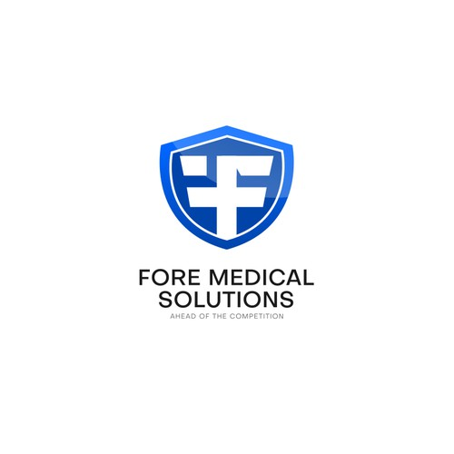 Modern logo for medical company