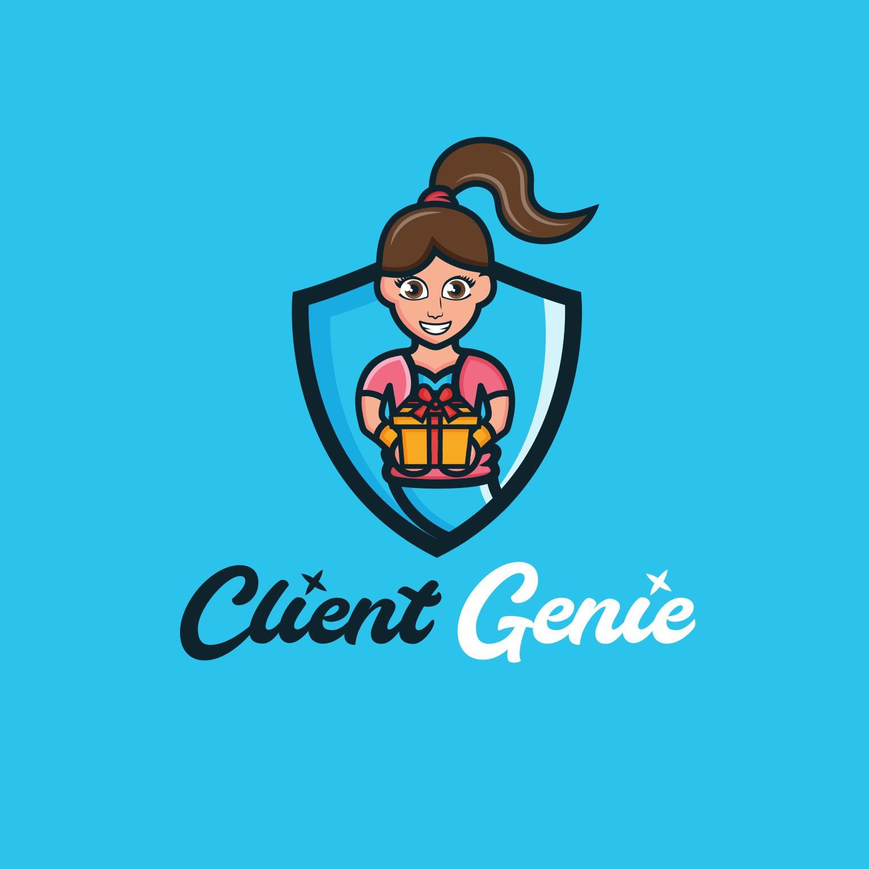 Design an eye-popping logo for Client Genie