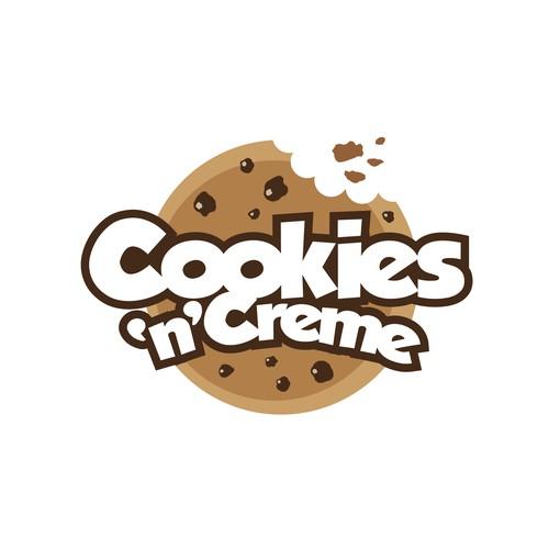 Cookies 'n' Creme Logo Design