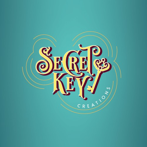 Logo for handmade jewelry shop.