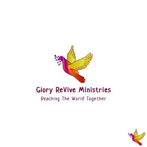 Logo concept for religious company