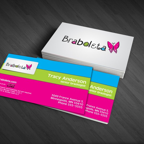 Help Braboleta with a new logo and business card