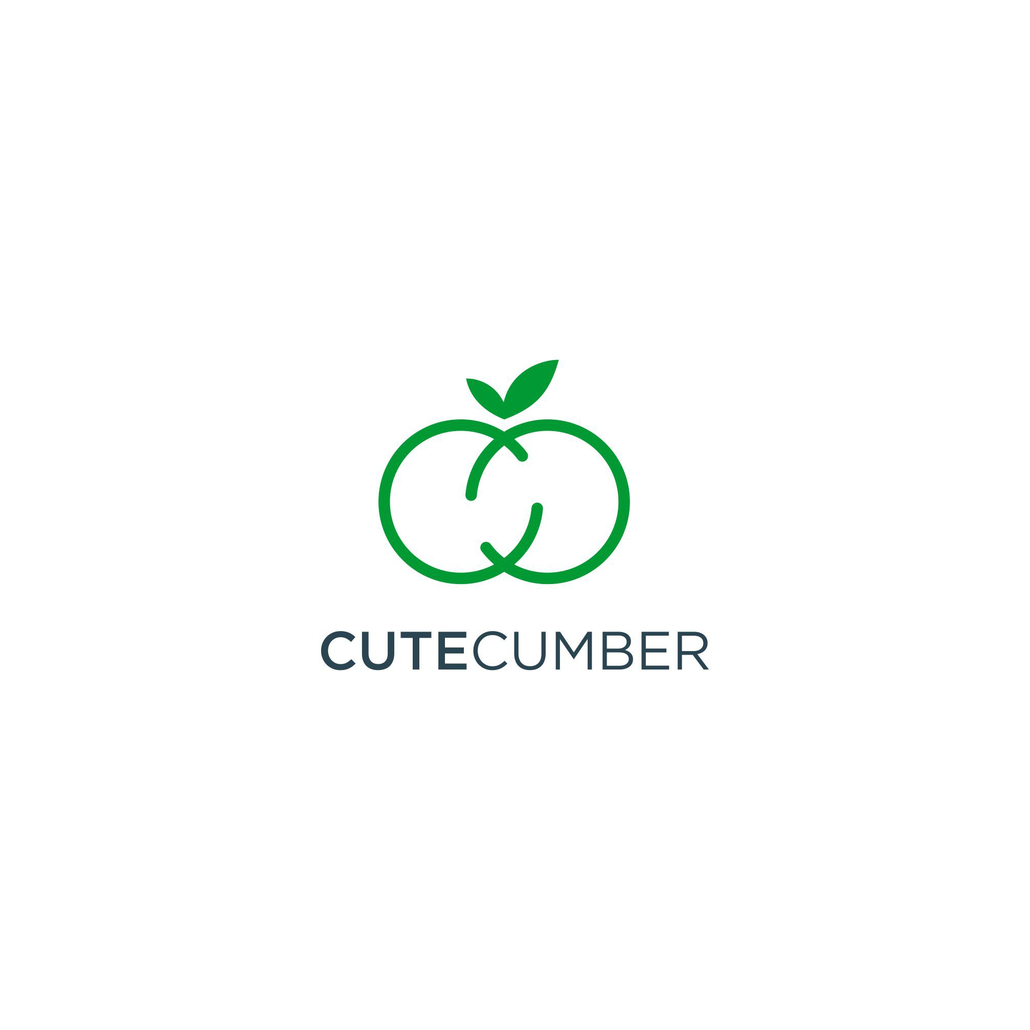 The CuteCumber dating app needs a new logo