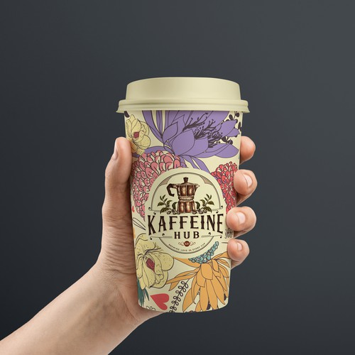 Coffee-to-go cup design