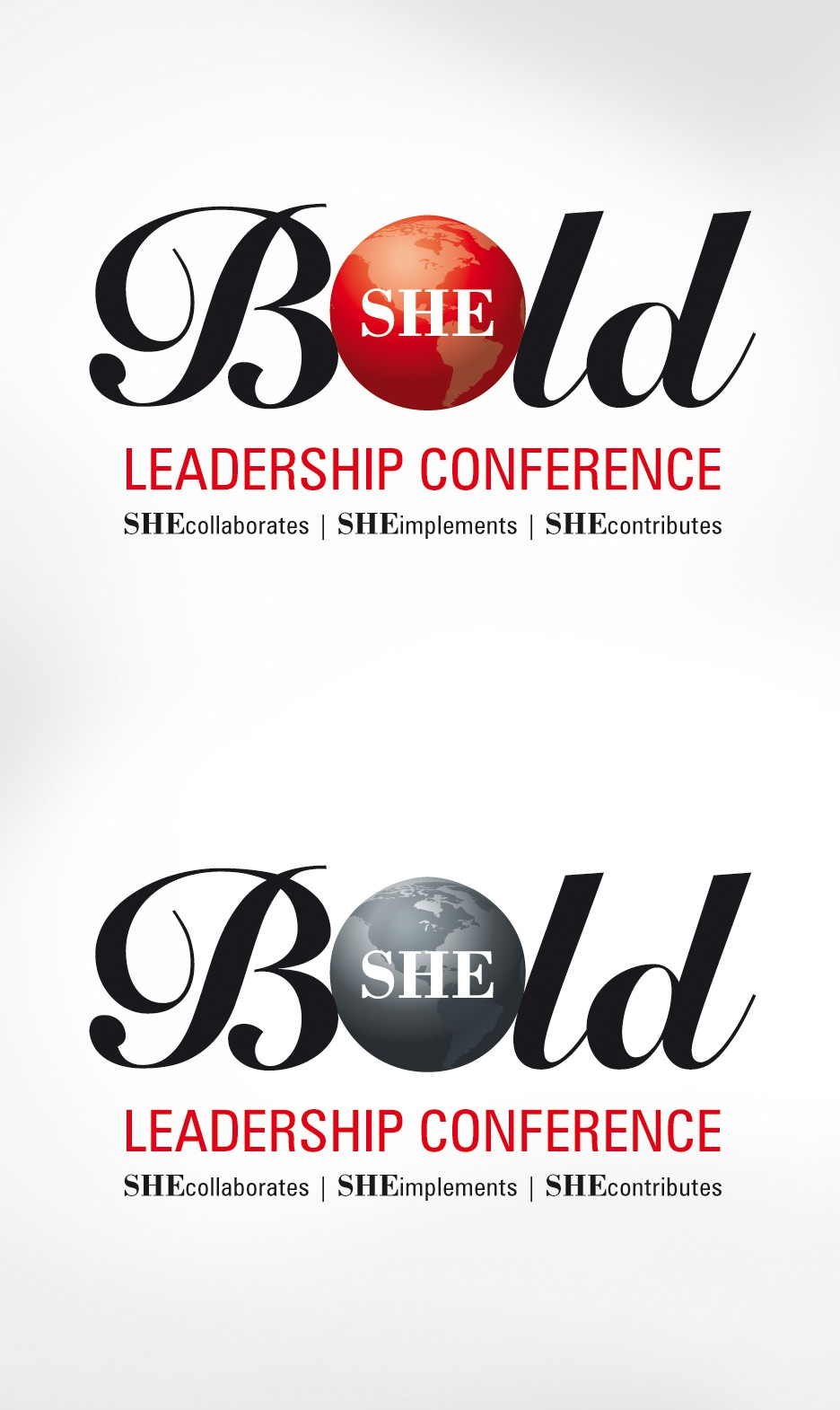 Create a conference logo to attract HIGH-END WOMEN LEADERS