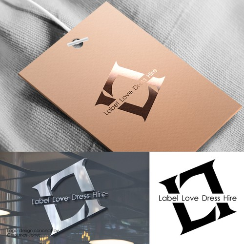 Logo concept for a luxury online clothing store