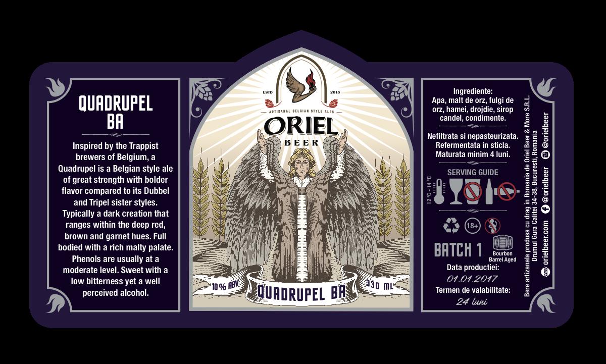 Oriel Beer Labels