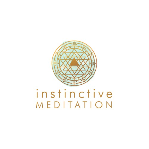 Instinctive Meditation logo, individual and group instruction in meditation business