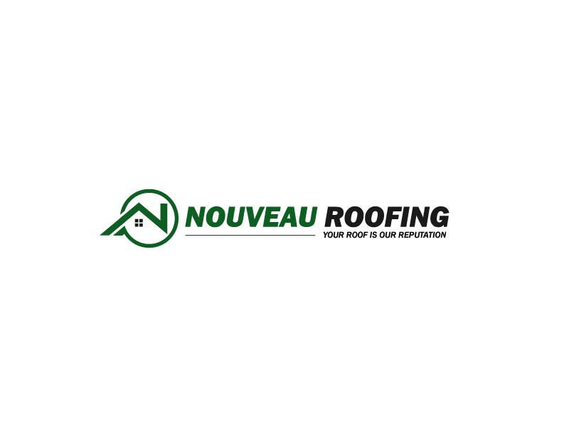 Create a clean modern, yet timeless logo for the face of my roofing company.