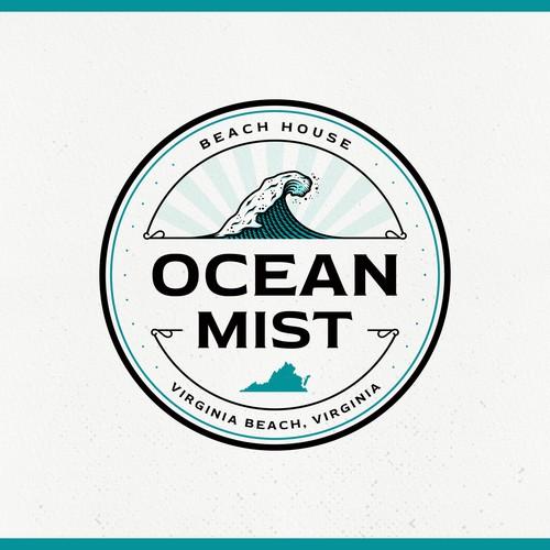 Fun Beach House Logo Design