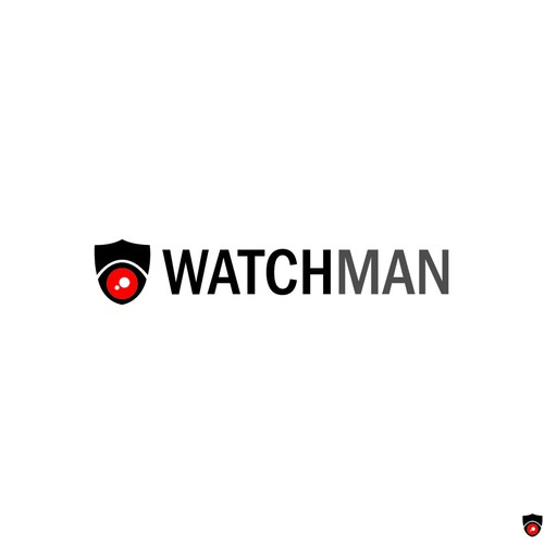 logo concept for Watchman