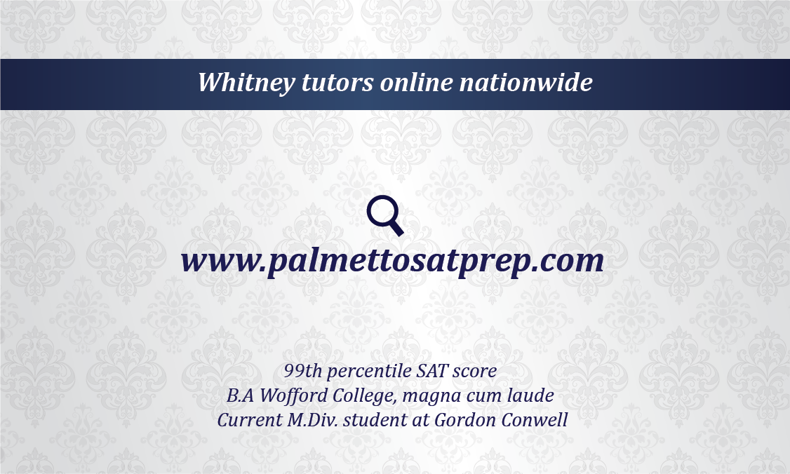 Design a business card for a private tutor
