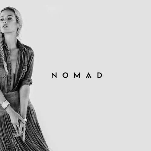 Contemporary boho fashion logo