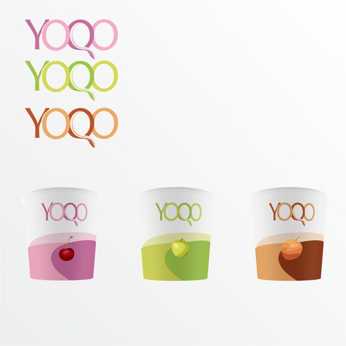 Logo for new yogurt brand