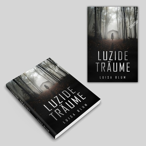 Design a great Thriller e book cover about spooky lucid dreams, wich reach into the readers reality.