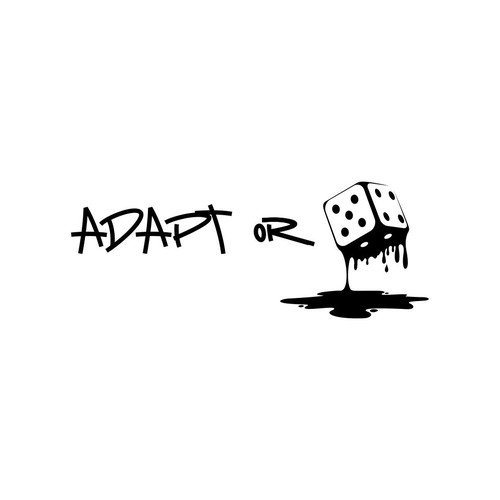 logo concept for adapt or die