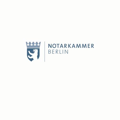 Logokonzept für die Berliner Notarkammer