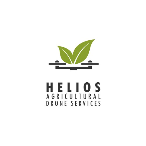 Logo for a drone used for agriculture