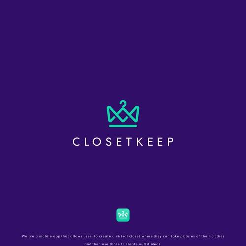 Luxurious Logo Concept for ClosetKeep