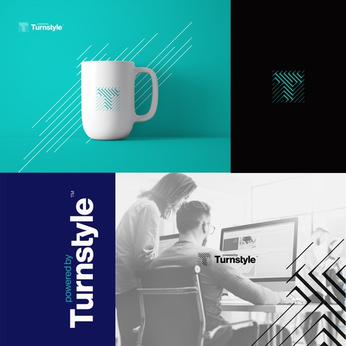Clever monogram for Turnstyle