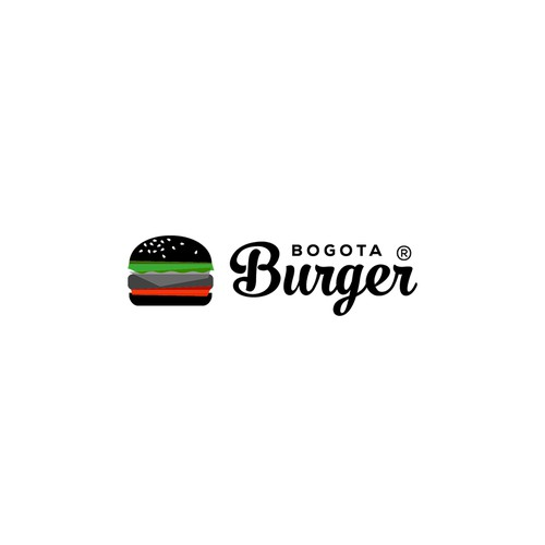 Logo Black burger