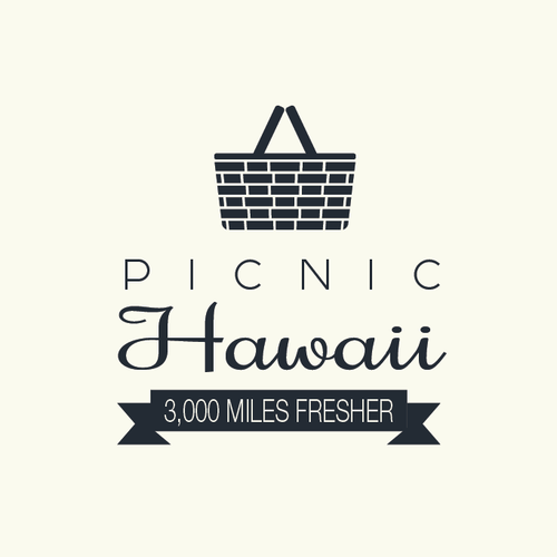 Create a design for a unique Picnic experience in Hawaii: Picnic Hawaii