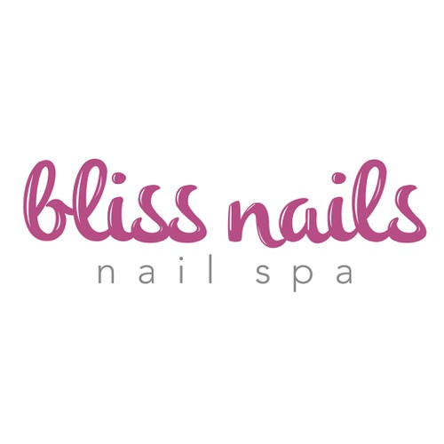 Logo for modern nail studio in Bangkok