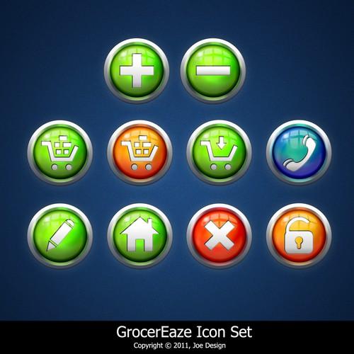 GrocerEaze icon Set
