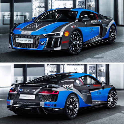 Make this 2017 R8 a sick race car!