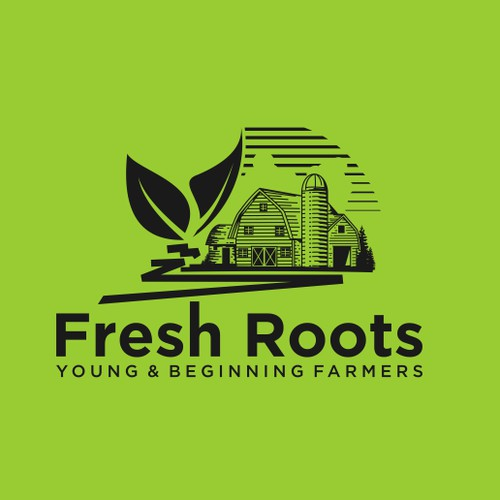 logo for fresh roots