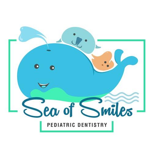 Modern playful illustration for our Pediatric Dental office.